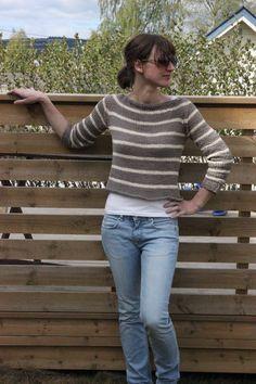 Norwegian Summer Sweater - Pickles *Free Pattern