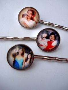 Custom Personalized Hair Pins by jerseymaids | Hatch.co