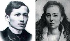 Although our history books suggest that Rizal was somehow a playboy, there's no doubt that his first love was Leonor Rivera, his near-cousin and childhood sweetheart who became the inspiration behind the character Maria Clara in Noli Me Tangere. Us History, History Books, History Facts, Noli Me Tangere Characters, Great Love, Love Her, Jose Rizal, Tragic Love Stories, History Tattoos