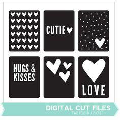 Hugs+&+Kisses+Cards+Cut+File+by+Two+Peas+@Kari Jones Jones Jones alissa Peas in a Bucket