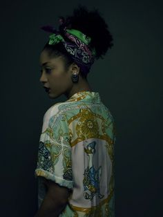 Inspired by a Tretchikoff painting, these portraits are done by Cape Town photographer Paul Cocks styled by Kate Desmarais who fashioned head-wraps out of clothing. Model: Nargis Musawwir from Base Hair & Makeup: Marieke Sixx Studio and lighting: Pro Rental Cape Town