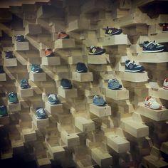 FIVE Sneakers shop. AS-BUILT interior design