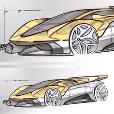 Gallery of design works sent for the initiated by Car Design Pro Car Design Sketch, Car Sketch, Car Photos, Car Pictures, Preppy Car, Cool Car Drawings, Lamborghini Cars, Lamborghini Concept, Industrial Design Sketch