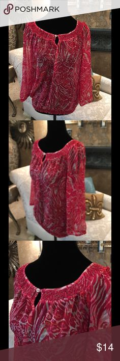 Lucky Brand designer top Great for any event Lucky Brand Tops Blouses