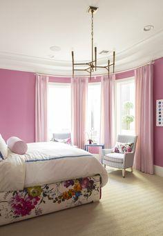Caitlin Wilson | Street of Dreams Project: Pink Bedroom Reveal