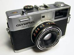 Compact rangefinder. Super sharp lens and a classic from Olympus. The 35 rc