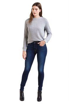 2b8ca2ae6e3e Levi s 721 High Rise Skinny γυναικείο τζην παντελόνι Arcade Night (30L) –  1888201-26-30 – Μπλε Σκούρο