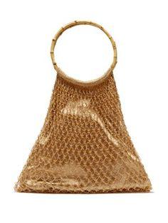 Aphrodite bamboo-handle beaded crochet bag   My Beachy Side    MATCHESFASHION.COM Beaded d45d4f7a8b