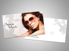 Models And Actors Modern Headshot Business Card Best Cards Ideas