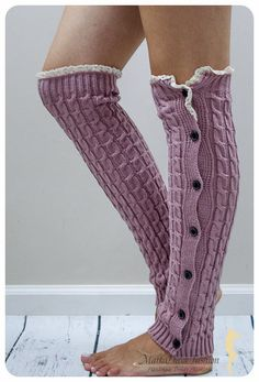 I'm auctioning 'Romantic Pink Vintage Lace Top Leg Warmers' on #tophatter