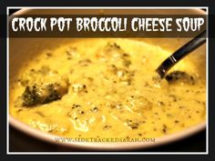Enjoy this easy recipe for making a delicious Crockpot Broccoli Cheese Soup. It's so good, my kids were going back for 2nds and 3rds!