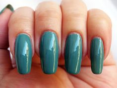 Nyx Girl Algae - a dusty blue-green creme. Click the image for more!