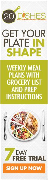 Eating healthy doesn't have to be hard, complicated, or expensive! 20 Dishes is here to help!