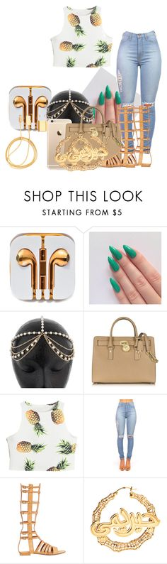 """""""185"""" by glorachel ❤ liked on Polyvore featuring Michael Kors, Yves Saint Laurent and PhunkeeTree"""