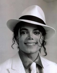 Michael Jackson yup that is the most beautiful smile in the world.