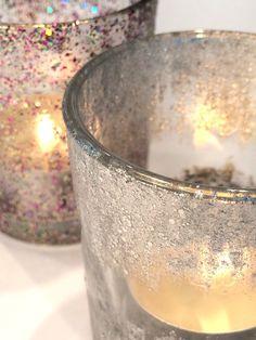 Teelicht Gläser mit Nagellack upgraden - nailpolish diy