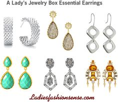 """Lady's Essential Earrings"" by ladiesfashionsense on Polyvore"