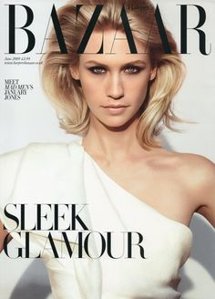 Harper's Bazaar UK June 2009 - January Jones