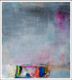 'Sunset'  Miranda Skoczek, 2009  Oil, oil stick and enamel on canvas.