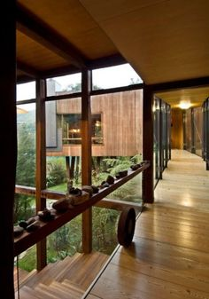 Amazing wooden house in #New Zealand 2