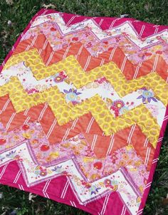 I want this to be how I learn to quilt. The fabric, the pattern, everything so perfect!