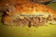 Fritadeira sem Óleo AirFryer Ajuda a Emagrecer: Bolinho de batata recheado na Fritadeira sem óleo ...