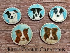 These canine deals with require some baking so start by pre-heating your oven to 350 degrees. Mix the ingredients beginning with dissolving the bouillon granules in hot water and blending in the other ingredients. Dog Cookies, Cupcake Cookies, Cupcakes, Dog Treats, Cookie Decorating, 350 Degrees, Decorated Cookies, Baking, Pets