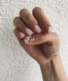 Classy Nails, Stylish Nails, Simple Nails, Minimalist Nails, Pastel Nails, Cute Acrylic Nails, Love Nails, Pretty Nails, Nail Manicure