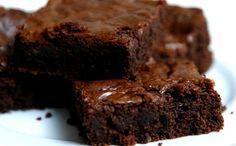 Receita de brownie de chocolate para a fase cruzeiro PL dukan