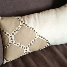 Detail on pillow