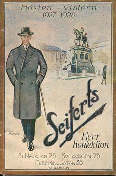 En postorderkatalog från modets höjdarepok - 1920-talet