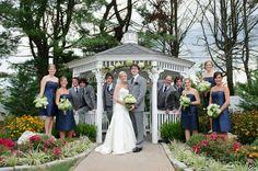 Summer Wedding   Outdoor Ceremony   Springfield Country Club