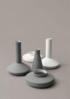 Milia Seyppel vases for Karakter Copenhagen