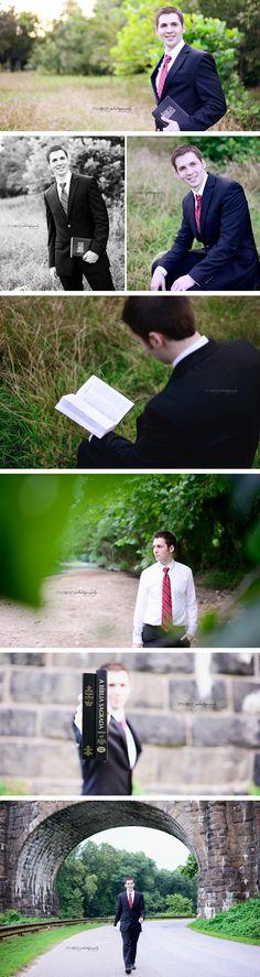 Missionary Photos | Male Senior Portraits