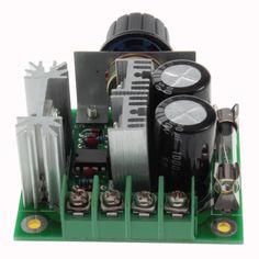 Envío Libre A Estrenar de Modulación por Ancho de Pulso 12 V-40 V 10A PWM DC Motor Control de Velocidad Interruptor Superior venta