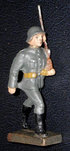 Massefigur LINEOL. Infanterist auf dem Marsch. | eBay
