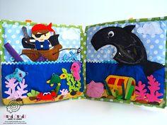 Personalised Quiet book Montessori Activity toy