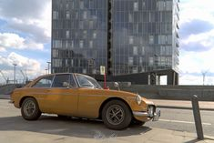 MG MGM GT - a fascinating car. Welcome back to the seventies in Hamburg, Germany.