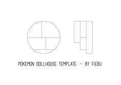 Pokemon Dollhouse Template