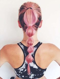 Perfect swimming hairstyles to keep your hair out of your face and look fabulous at the same time! Swimming hairstyles for both adults and little girls! Swimming Hairstyles, Workout Hairstyles, Ponytail Hairstyles, Summer Hairstyles, Trendy Hairstyles, Hairstyles Videos, Athletic Hairstyles, Hairstyles Pictures, Beauty