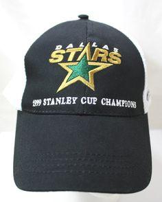 Dallas Stars 1999 Stanley Cup Champions Hat NHL Bud Light Snapback Trucker Hat | eBay Stanley Cup Champions, Bud Light, Nhl, Snapback, Hockey, Dallas, Baseball Hats, Stars, Ebay