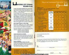 ©1966 Universal City Studios California Advertising Souvenir Tour Booklet