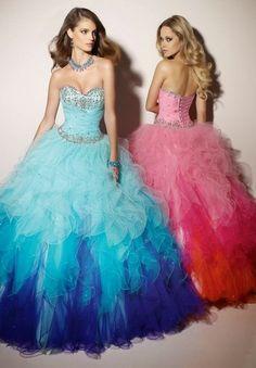 Vestidos de 15 años fotos 2016Estilo y Belleza