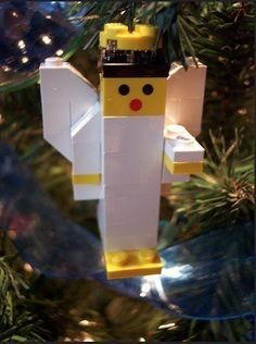 Are you a huge Lego fan? Take inspiration from these fun designs and build your own Lego Christmas decorations this year. Lego Activities, Christmas Activities, Christmas Crafts For Kids, Christmas Fun, Holiday Crafts, Childrens Christmas, Lego Christmas Ornaments, Christmas Decorations, Lego Duplo