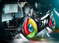 Chrome cycle by *Jon-Lock on deviantART