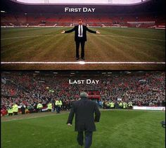 Sir Alex Ferguson! # Manchester United