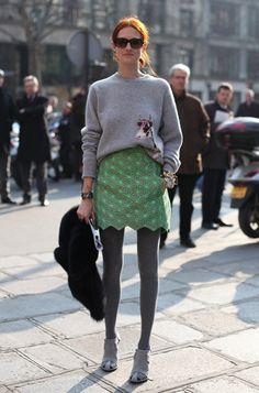 skirt: Balenciaga Fall 2010
