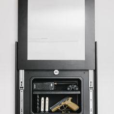 Series 1410 Lockable Concealment Cover & Insert Bundle | Tactical Walls