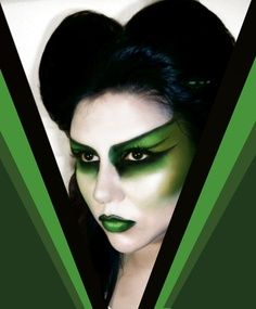 wicked witch makeup?