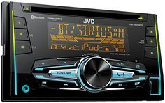 JVC KW-R920BTS Double DIN Bluetooth In-Dash Car Stereo Receiver w/ For Android & iPhone SXM Vario 2 pre 4.8V and FLAC playback